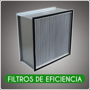 FILTROS DE EFICIENCIA